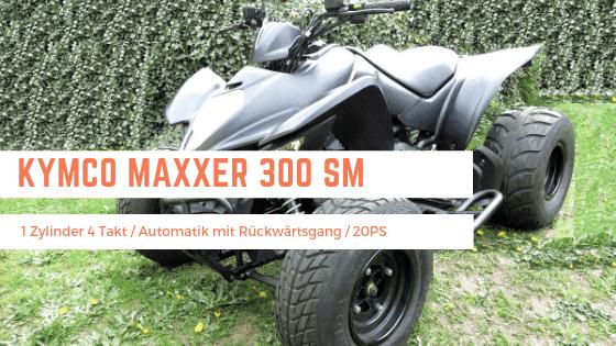 Kymco Maxxer 450i mieten